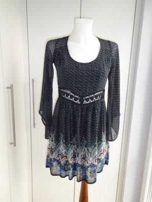 Hollister Babydoll-jurk veelkleurig Polyester