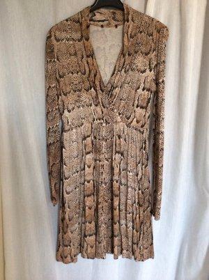 Ausgefallenes Kleid mit Snake-Print, Gr 36, top Zustand