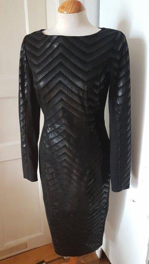 Asos Leather Dress black leather