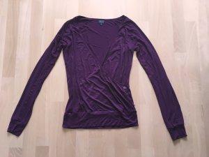 Tchibo / TCM Oversized shirt paars-donkerpaars