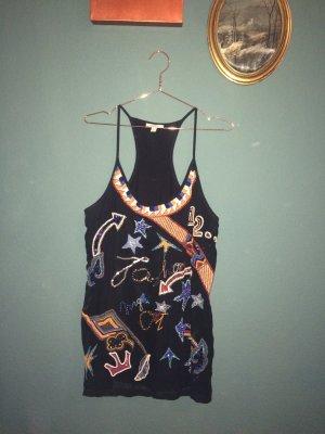 Ausgefallenes Pailletten Kleid | Zara