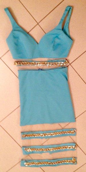 Ausgefallenes Partykleid Kleid echter Hingucker gr M neu