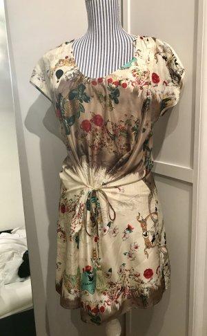 Ausgefallenes Seidenkleid aus Paris