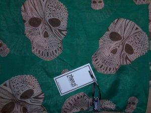 ausgefallenes Tuch von Zhenzi Skulls - ungetragen mit Etikett