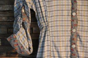 Ausgefallenes und superschönes Kleid / Tunika / Karobluse