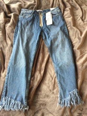 Ausgefranste Jeans