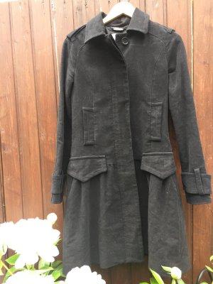 Mango Suit Redingote noir