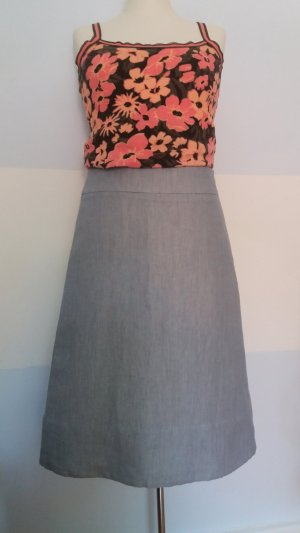 COS High Waist Skirt multicolored cotton