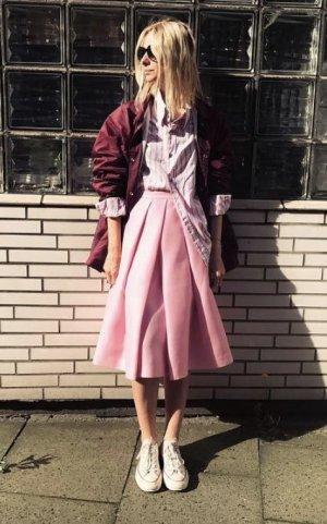 Tibi NYC Cirkelrok roze Gemengd weefsel