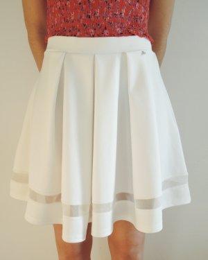 Guess Falda circular blanco