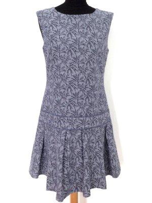 Ausgestelltes Kleid mit Palmen Druck von J. Crew, Gr. US6/DE36