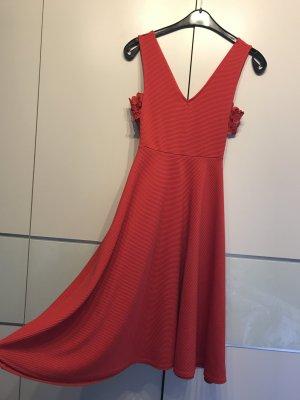 Asos Cocktail Dress red-dark red