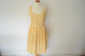 Ausgestelltes Print Sommer Kleid