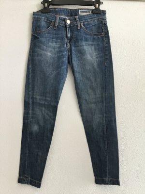 """Ausgewaschene 7/8 Jeans von Fornarina """"Joey"""" mit Sretchanteil"""