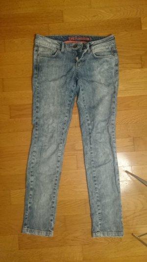 Only Pantalon taille basse bleu-bleu pâle