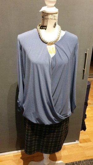 Aussergewöhnliche Bluse von Esprit grau blau 42