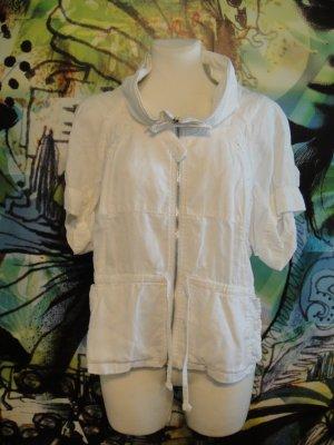 Armani Jeans Blouson white linen