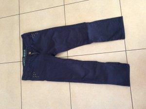 Außergewöhnliche dunkelblaue Mexx-Jeans 7/8-Länge