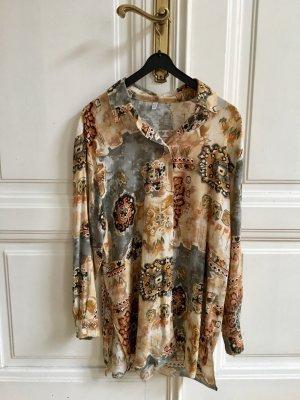 Außergewöhnliche Hemdbluse Tunika   Hemd Oversized Vokuhila