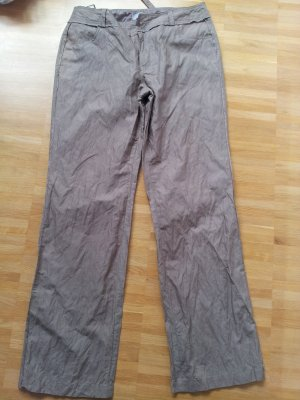 3 Suisses Jersey Pants sand brown-bronze-colored