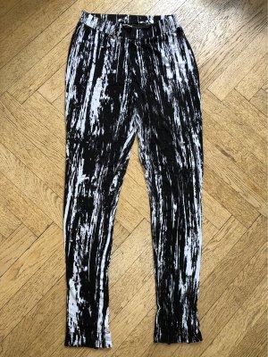 Esprit Leggings negro-blanco