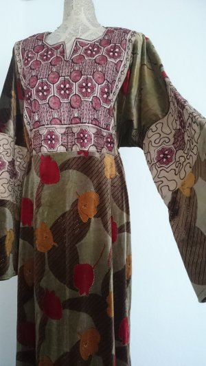 Robe Hippie multicolore fibre synthétique