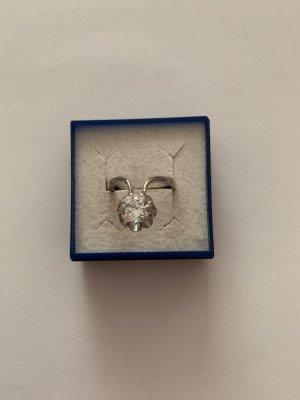 Außergewöhnliche Silber 925 Sterling Silber Ring mit Zirkonia