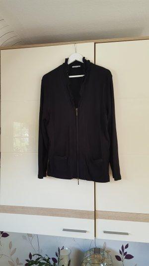 Außergewöhnliche Strickjacke/Cardigan von PUBLIC - schwarz Größe 46