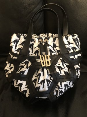 Bikkembergs Handbag white-black