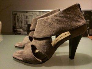 Außergewöhnliche Wildleder High Heels- wie neu, nur 2x getragen
