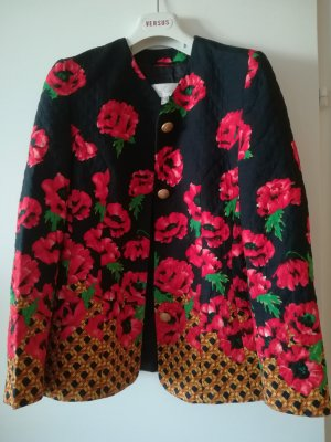 ae elegance Blazer negro-rojo