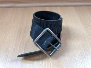 Leather Belt black leather