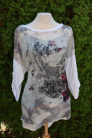 Außergewöhnliches assymetrisches Shirt von Made in Italy