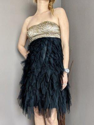Apart Cocktail Dress black-gold-colored