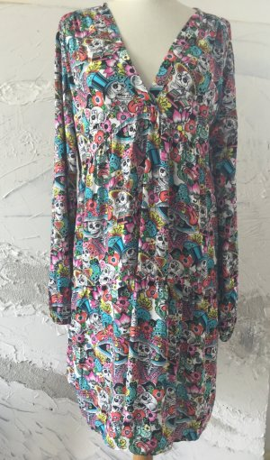 Lindsay Moda Vestido Hippie multicolor Viscosa