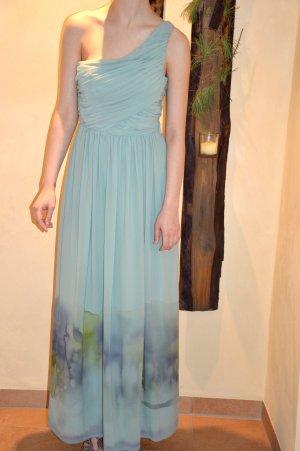 Außergewöhnliches One Shoulder Kleid mit Farbverlauf