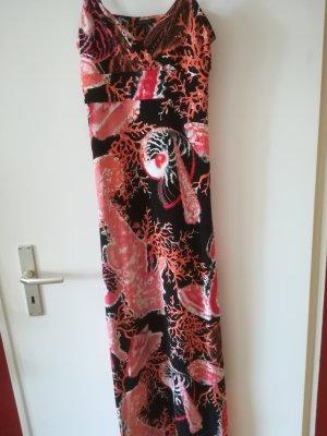 Aussergewoehnliches Sommerkleid im Meeresdesign mit Unterkleid, Gr. 36