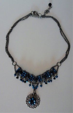 Collier Necklace blue