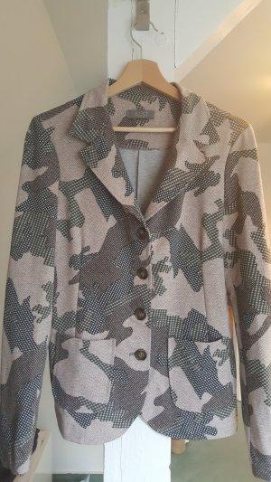 Aust Blazer sweat vieux rose-gris vert coton