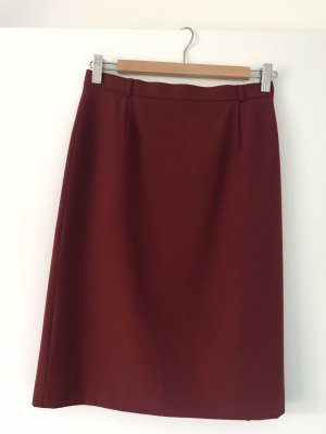 Aust Pencil Skirt dark red