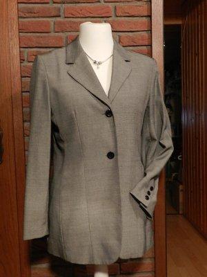 AUST Design - Damen Blazer - grau - Schurwolle - Gr.36 - Top Zustand