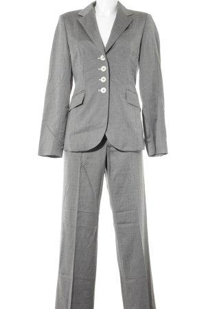 Aust Tailleur-pantalon gris moucheté style d'affaires