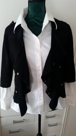 Aust Chaqueta estilo camisa negro