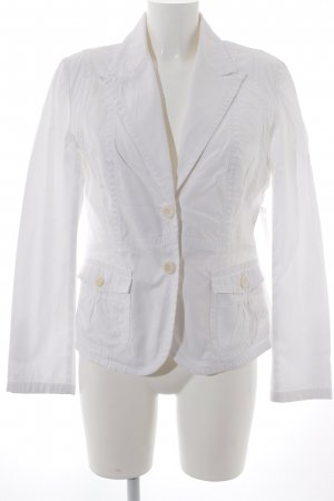 Aust Jeansblazer wollweiß-creme Business-Look