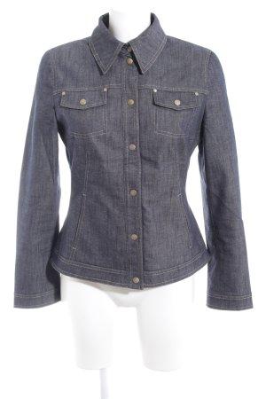 Aust Denim Shirt slate-gray jeans look
