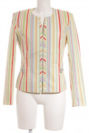 Aust Short Blazer striped pattern street-fashion look