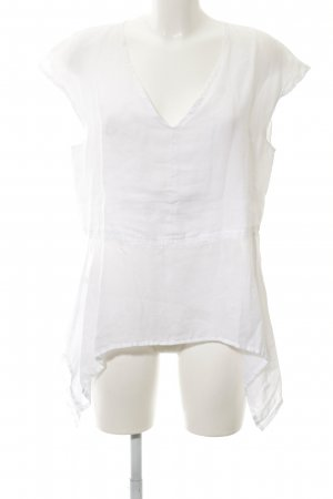 Aust Short Sleeved Blouse white casual look