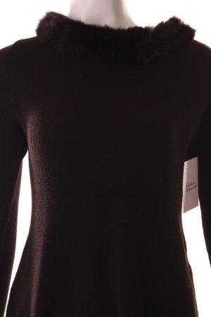Aust Pullover schwarzbraun Elegant