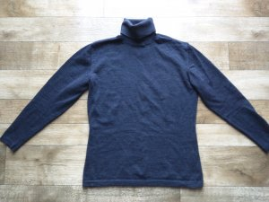 Aust Wool Sweater anthracite merino wool
