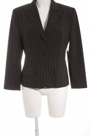 Aust Tuxedo Blazer black-brown striped pattern extravagant style